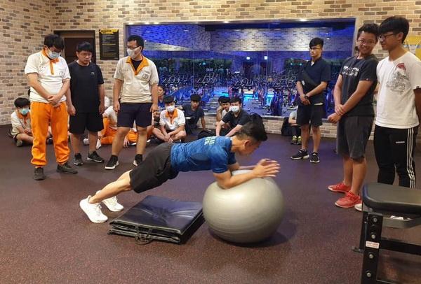 育達科大帶高中生體驗健身 愛玩更要玩專業-世界高中